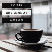 Expired: $100 Starbucks Gift Card Giveaway!