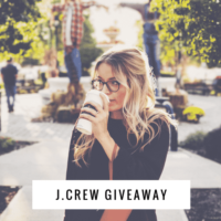 $200 J. Crew Gift Card Giveaway! (Ends March 1st)