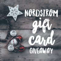 Expired: $200 Nordstrom Gift Card Giveaway! (Ends January 3rd)