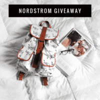 $200 Nordstrom Gift Card Giveaway! (Ends March 14th)