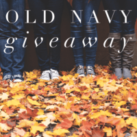 Expired: $200 Old Navy Gift Card Giveaway! (Ends January 2nd)