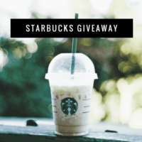 Expired: $200 Starbucks Gift Card Giveaway! (Ends March 23rd)