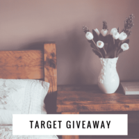 $200 Target Gift Card Giveaway! (Ends March 28th)