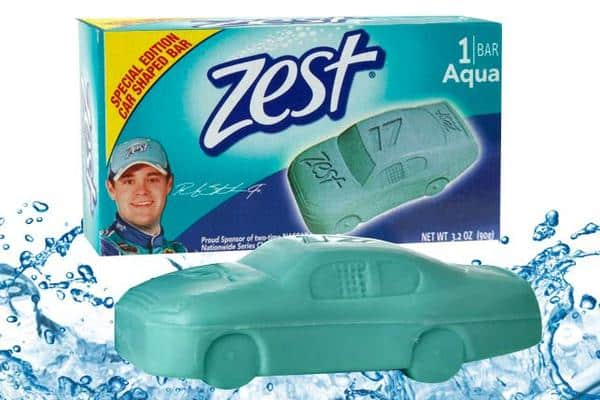 Free Car Shaped Bar of Zest Soap PrettyThrifty.com