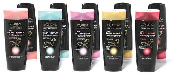 Free Sample of L'Oreal Advanced Haircare Products PrettyThrifty.com