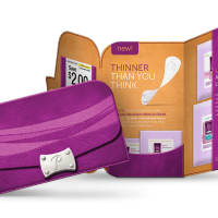 Free Poise Liner, Pads and Feminine Wellness Zippered Sample Packs