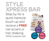 Free Nail Accent or Hair Chalking at JCPenney PrettyThrifty.com