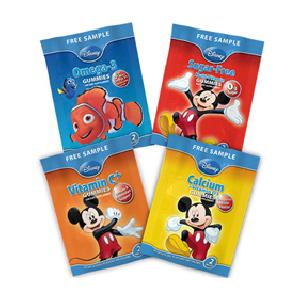 Free NatureSmart Disney Gummy Vitamin Samples PrettyThrifty.com