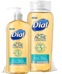 Free Dial Acne Control Face Wash and Body Wash PrettyThrifty.com