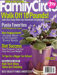 Free One Year Subscription to Family Circle Magazine PrettyThrifty