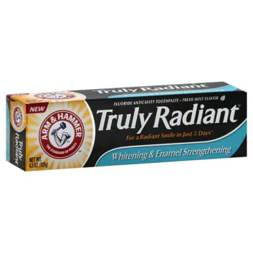 Free Sample of Arm and Hammer Truly Radiant Toothpaste PrettyThrifty.com