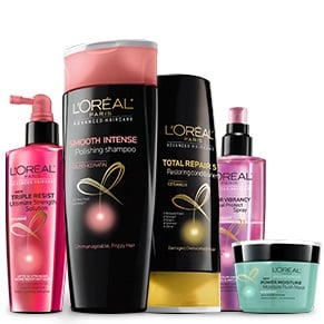 Free L'Oreal Advanced Haircare Samples PrettyThrifty.com