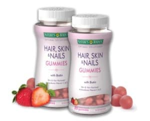 Free Nature's Bounty Hair, Skin and Nails Gummy Vitamins PrettyThrifty.com