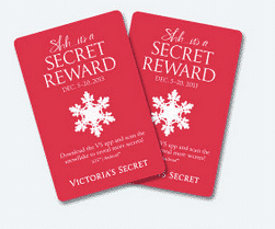 Free Secret Reward Card to Victoria's Secret PrettyThrifty.com