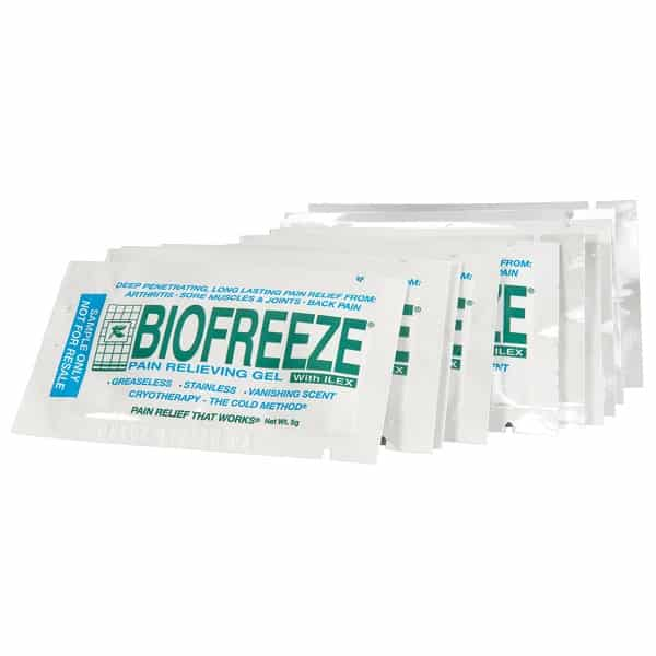 Free Bio Freeze Pain Relieving Gel Pack Sample PrettyThrifty.com