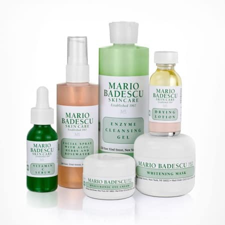 Mario Badescu makes finding skin care extremely simple. Everything is labeled by skin type (dry, oily, sensitive, all ect) which I find so helpful. I looked through my samples and then referenced them in the guide to see what they they claim to do.