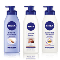 Free Nivea Nourishing or Cocoa Butter In-Shower Lotion Sample