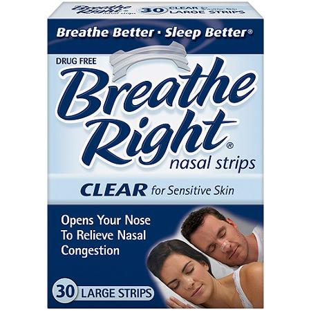 Free Sample of Breathe Right Strips PrettyThrifty.com