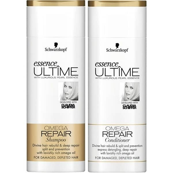 Free Schwarzkopf Essence ULTIME Omega Repair and Moisture Shampoo and Conditioner Samples PrettyThrifty.com