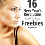 New Years Resolution Health and Fitness Freebies PrettyThrifty.com