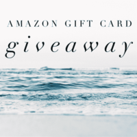 $500 Amazon Gift Card Giveaway!! (Ends January 26th)
