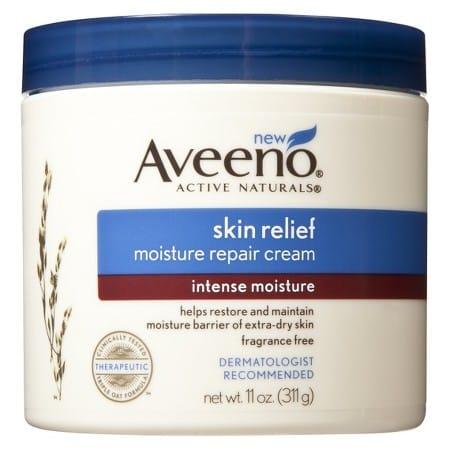 Aveeno Skin Relief Moisture Repair Cream PrettyThrifty.com