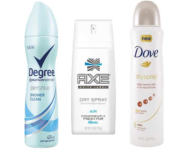 Free Axe, Degree or Dove Dry Spray Antiperspirant Samples PrettyThrifty.com
