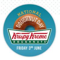 Free Krispy Kreme Doughnut on Friday, June 3rd