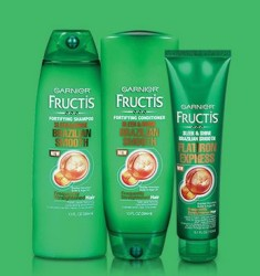 Free Garnier Fructis Sleek and Shine Brazilian Smooth Hair Care Sample Kit PrettyThrifty.com