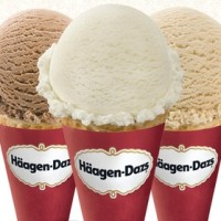 Free Ice Cream Cone at Haagen-Dazs on May 9th, 2017