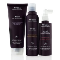 Free Invati Exfoliating Shampoo, Thickening Conditioner and Scalp Revitalizer Samples from Aveda