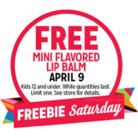 Expired: Free Mini Flavored Lip Balm for Kids at KMart on Saturday, April 9th, 2016