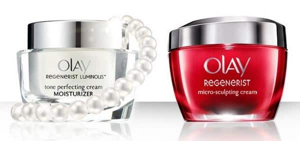 Free Olay Regenerist Luminous Tone Perfecting Cream or Micro Sculpting Cream Sample PrettyThrifty.com