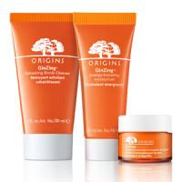 Free Sample of Origins GinZing Scrub Cleanser, Moisturizing Cream or Eye Cream
