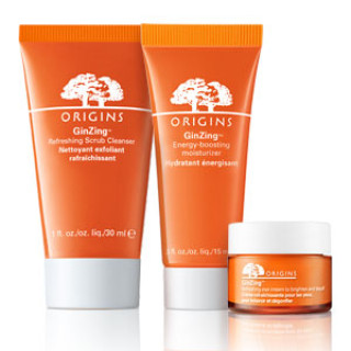 Free Sample of Origins GinZing Scrub Cleanser, Moisturizing Cream or Eye Cream
