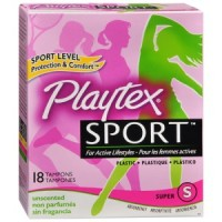 Free Playtex Sport Liners, Pads and Tampon Sample Pack