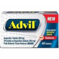 Free Sample of Advil Film Coated Tablets