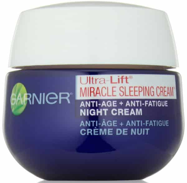 Free Sample of Garnier Ultra Lift Miracle Sleeping Cream PrettyThrifty.com