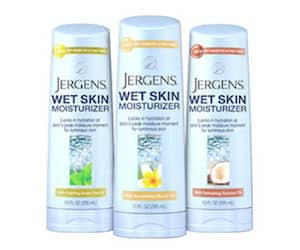 Free Sample of Jergens Wet Skin Moisturizer PrettyThrifty.com