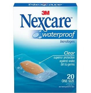 Free Sample of Nexcare Waterproof Bandages PrettyThrifty.com