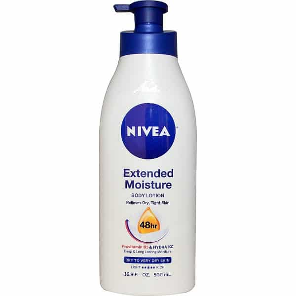 Free Sample of Nivea Extended Moisture Body Lotion PrettyThrifty.com