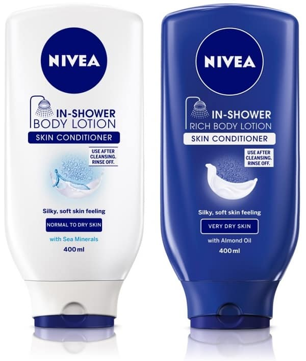Free Sample of Nivea In-Shower Body Lotion PrettyThrifty.com