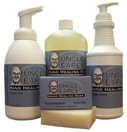 Free Sample of Uncle Earl's Hand Healing Soap PrettyThrifty.com