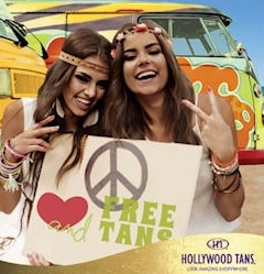 Free Tanning Session at Hollywood Tans on March 21, 2015 PrettyThrifty.com