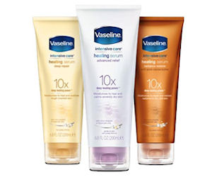 Free Vaseline Intensive Care Healing Serum Sample PrettyThrifty.com