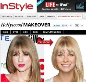 hair virtual makeover styles