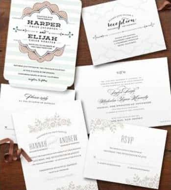 Free Wedding Invitation Sample Kit from Minted PrettyThrifty.com