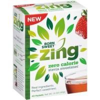 Free Zing Zero Calorie Sweetener Sample