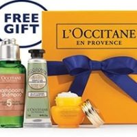 Free L'Occitane Anti-Aging Miracle Gift Set