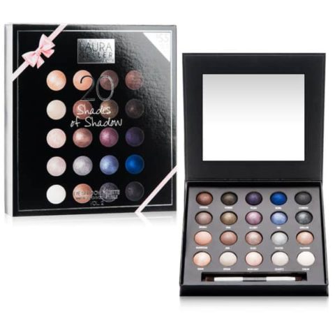 Laura Gellar 20 Shades of Shadow Makeup Palette Giveaway! A $218 Value!